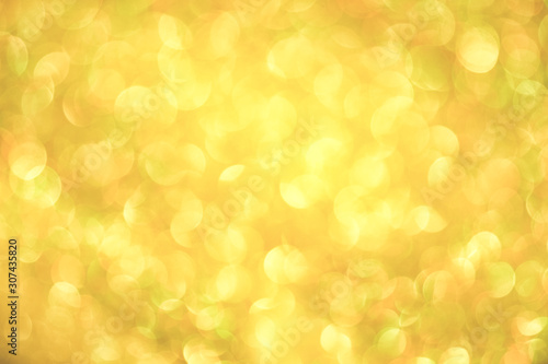 Fototapeta Luxury gold glitter with bokeh background, de-focused. concept for chrismas, holiday, happy new year, decoration. obraz na płótnie