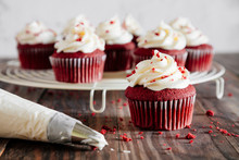 Red Velvet Cupcakes Decoaration