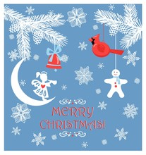 Paper Christmas Greeting Paste...