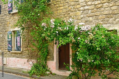 Photo Auvers sur Oise; France - july 26 2019 : old village