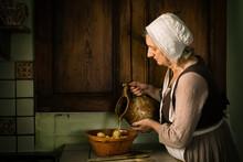Kitchen Scene Renaissance Style