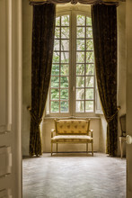 Antique Windows In French Chateau