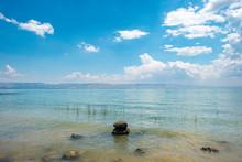 The Sea Of Galilee (Kinneret) At Tabgha, Israel