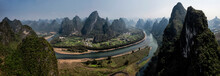 Panorama Of The  Mountainous L...