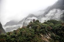 Mountain Scenery At The Taroko...