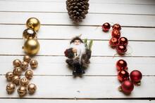 Christmas Decorations On Top O...