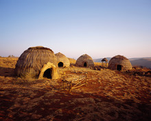 Zulu Huts On A Film Set
