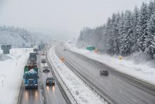 Winter Motorway