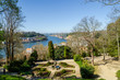 Beautiful garden in center of Porto with a view of Arrabida bridge