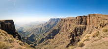 Panoramic View Of The Drakensb...