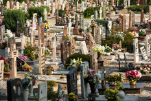 View Of Cemetery, Verona, Italy