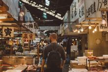 Young Man At Market