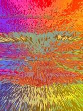 Psychedelic Rainbow Gradient Graphic Background