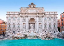 Trevi Fountain, The Façade