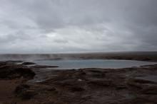 The Original Geysir In Iceland...