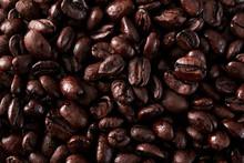 Closeup Of Espresso Coffee Beans