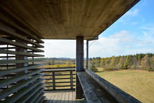 On A Wooden Lookout Tower - Vi...