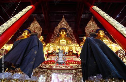 TIantong temple in Ningbo China