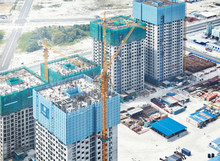 View Of Construction Site Duri...