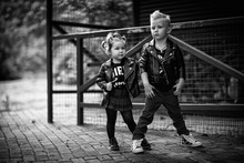 Boy And Girl, Fashion, Beautiful, Blue Eyes, Cool, Rock Style, Young Musicians, Punks