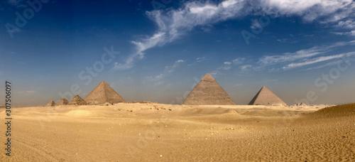 Great Pyramids Panorama