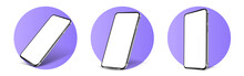 Smartphone Frameless Blank Scr...
