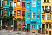 Colorful Buildings In Balat, I...