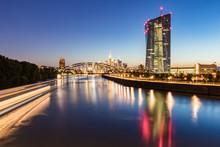 River In Illuminated City Agai...