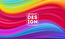 Abstract Colorful Flow Poster Designs Template, Dynamic Color Flow Vector, Color Mesh Background, Art Design For Your Design Project. Vector Illustration EPS10