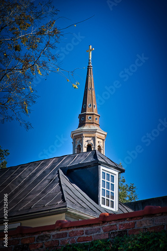 2018-12-15 A CHURCH STEEPLE IN SOUTH CAROLINA