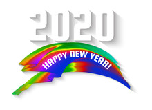 Happy New 2020 Year Inscriptio...
