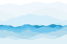 Blue Sea And Beautiful Waves B...