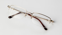 Eyeglasses On White Background...