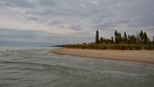 Photo Of A Sandy Lake Michigan...