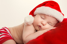 Christmas Portrait Of Sleeping...