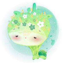 Doodle Turtle Painting Waterco...
