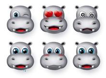 Hippopotamus Emojis And Emotic...