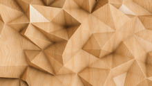 Polygonal Abstract Background ...