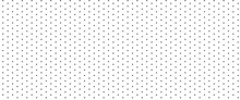 Dotted Seamless Pattern. Black...