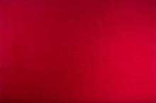 Red Color Velvet Texture Background. Top View.