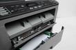 Close-up working printer scanner copier device - Image