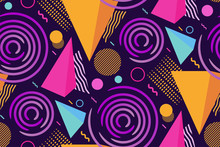 Seamless Geometric Pattern. Va...