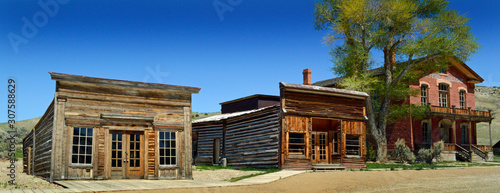 The Ghost town of Bannack, Montana