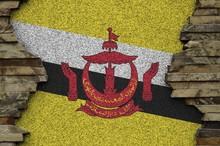 Brunei Darussalam Flag Depicte...