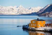 Traditional Norwegian Wooden H...
