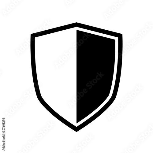 Vector Shield icon Fototapet