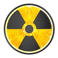 Creative Sign Of Radiation. Ra...