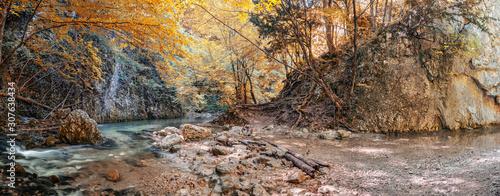 Source Paniya, Grand Crimean Canyon, Crimean peninsula, Bakhchisaray district, S Tapéta, Fotótapéta