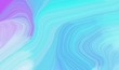 curvy background illustration with sky blue, lavender blue and light blue color