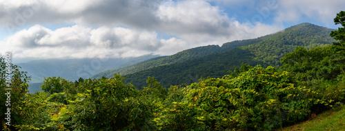 Appalachian Mountain View Along the Blue Ridge Parkway Canvas Print